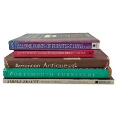 Furniture Reference Books, Shaker, Early American, Contemporary Collection of 5