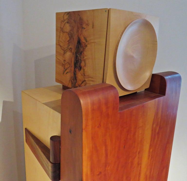 Walnut Furniture Sculpture