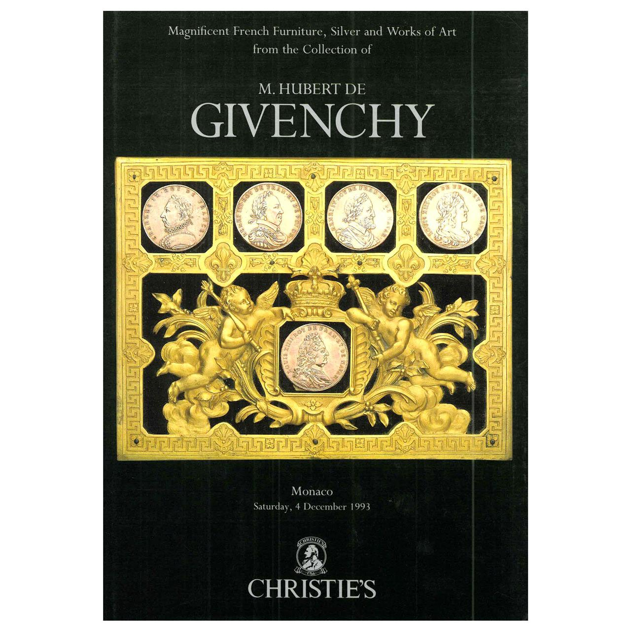 Furniture, Silver and Works of Art from the Collection of Hubert de Givenchy