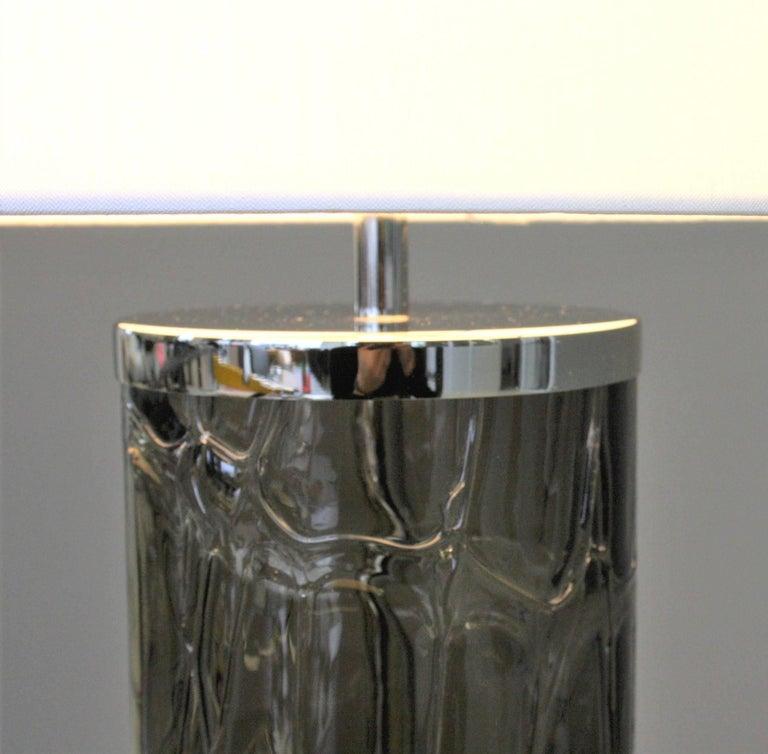 Italian Fusione Table Lamp For Sale