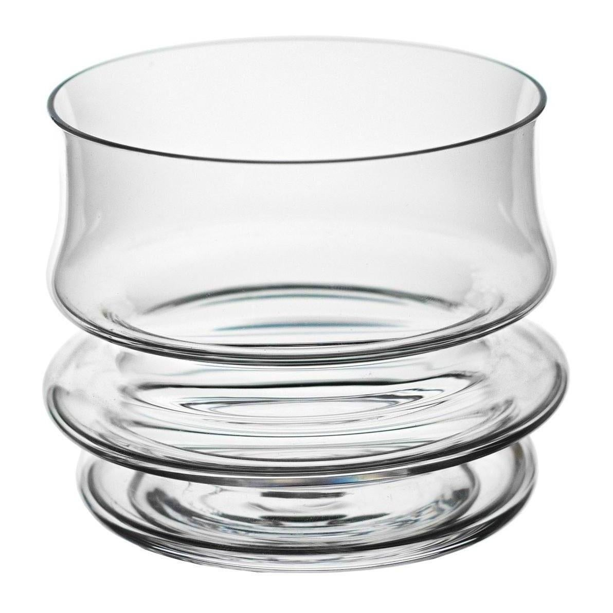 FUSO Hand Blown Short Glass by Ries