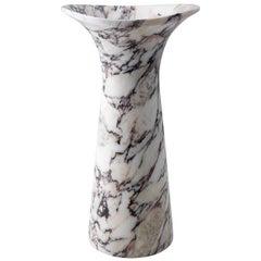 Fusto Vase in Calacatta Viola Marble by Kreoo