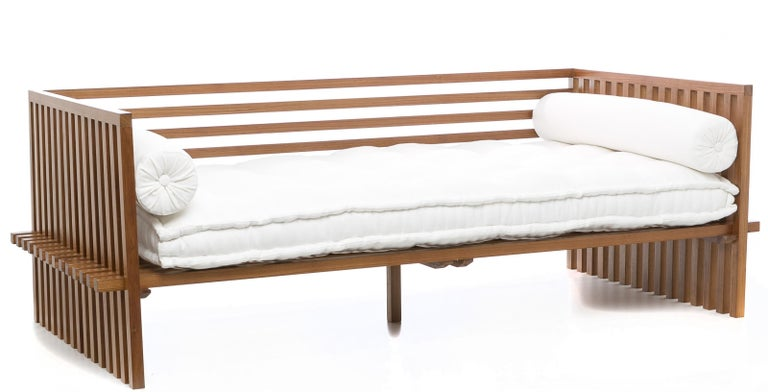 Futon daybed sofa contemporary japanese style sofa in for Mobel asia style