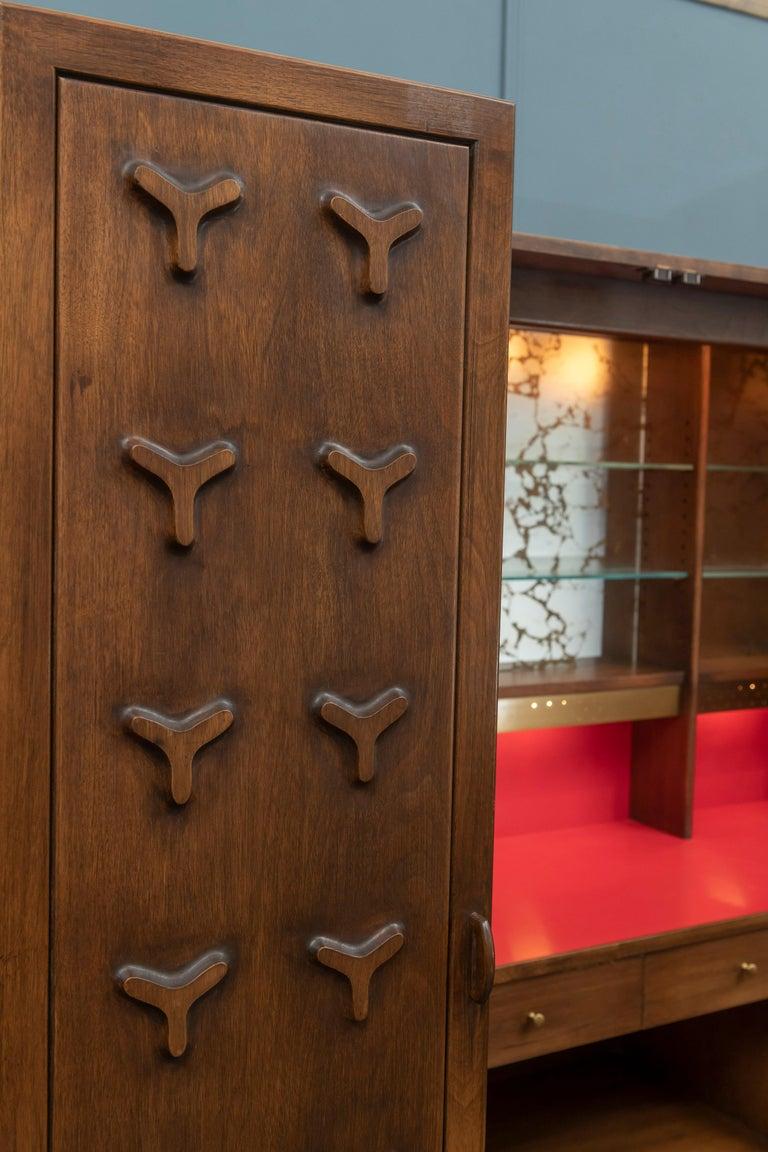 Futura Bar Cabinet by Jorgen Hansen and Jens Thuesen for Romweber For Sale 5
