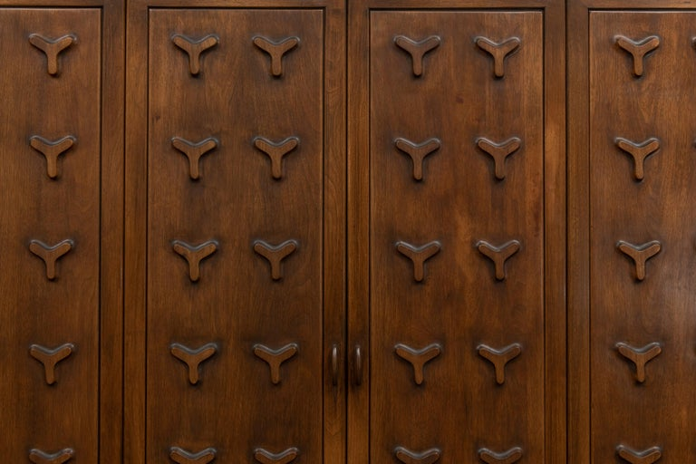Mid-Century Modern Futura Bar Cabinet by Jorgen Hansen and Jens Thuesen for Romweber For Sale