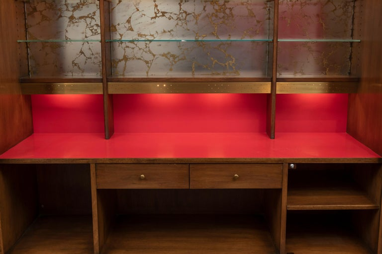 Futura Bar Cabinet by Jorgen Hansen and Jens Thuesen for Romweber In Good Condition For Sale In San Francisco, CA
