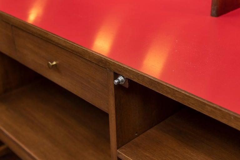 Walnut Futura Bar Cabinet by Jorgen Hansen and Jens Thuesen for Romweber For Sale