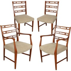 """Futura"" Swedish 1950s Dining Chairs"
