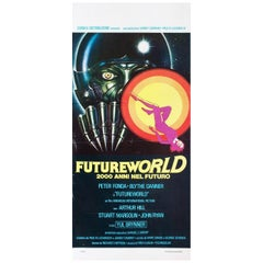 Futureworld 1976 Italian Locandina Film Poster