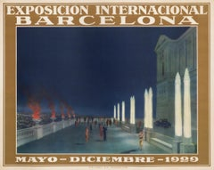 """Exposicion Internacional Barcelona"" International Exposition Original Poster"