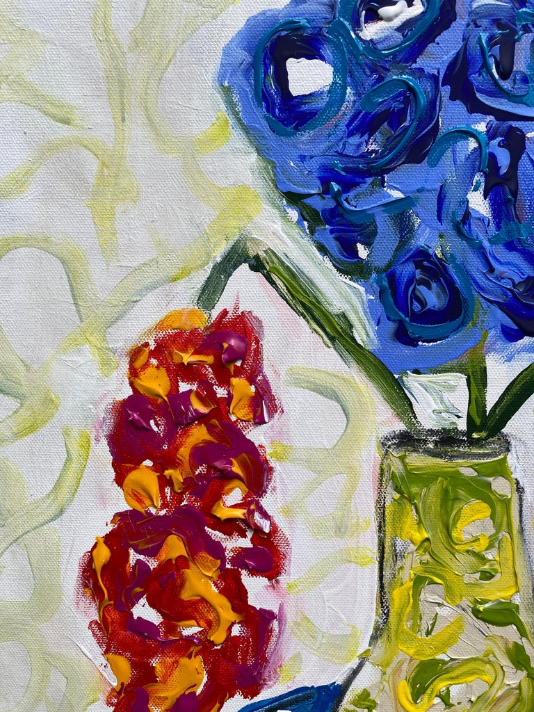 Flowers Never Seen #3 - Painting by G. Campbell Lyman