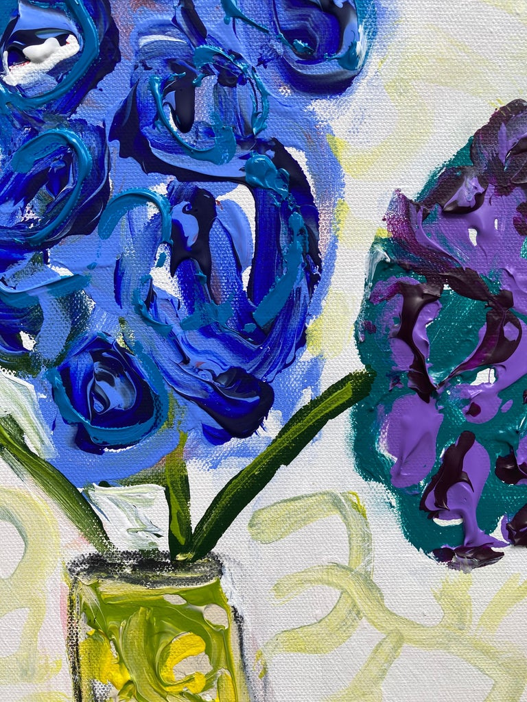 Flowers Never Seen #3 - Impressionist Painting by G. Campbell Lyman