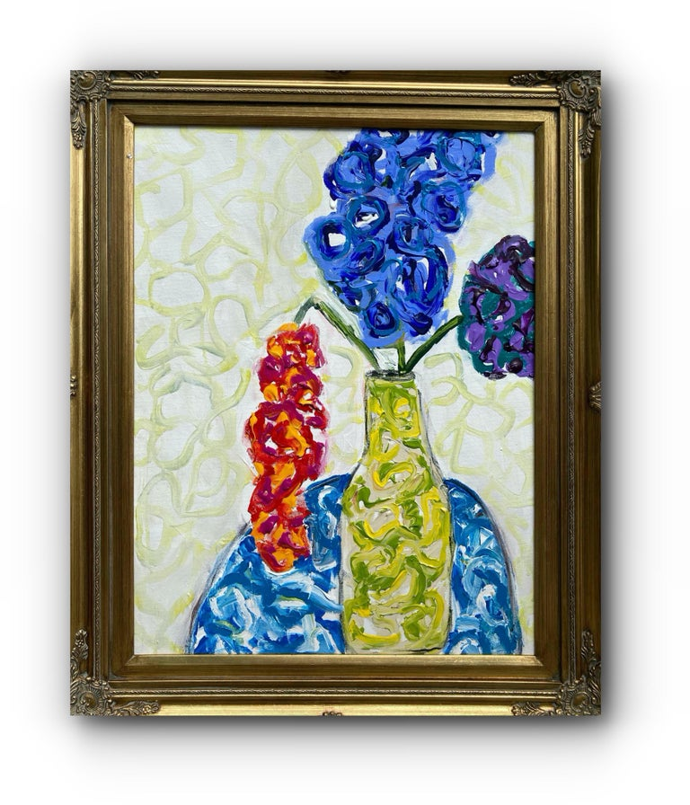 G. Campbell Lyman Interior Painting - Flowers Never Seen #3