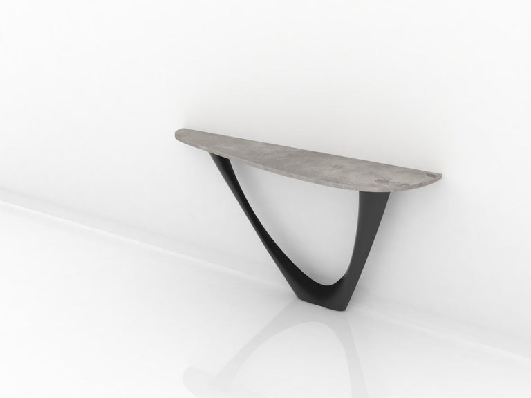 G-Console is another bionic object in our collection. Created for smaller spaces, it gives another possibility in interior planning and at the same time preserves unique shape of original G-Table. Both objects were made for enthusiasts of bionic