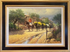 """""""FLOWERS TO MARKET"""" (IXTAPAN MEXICO) 1983 G. HARVEY  PICTURED G. HARVEY BOOK"""