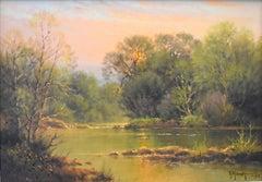 """Spring Evening"" San Gabriel River, North of Austin Texas"