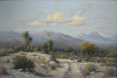 """WEST TEXAS DESERT""  Yuccas Mountains"
