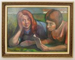 Art Deco  Females Painting