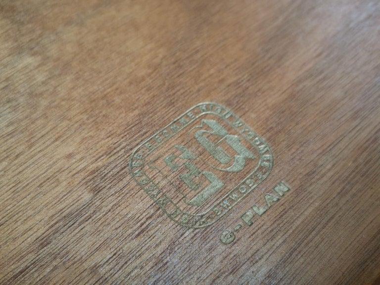 British G Plan China White Oak Sideboard Chest of Drawers Midcentury