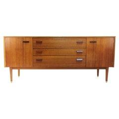 G Plan E Gomme Midcentury Teak and Oak Sideboard 1950s Vintage
