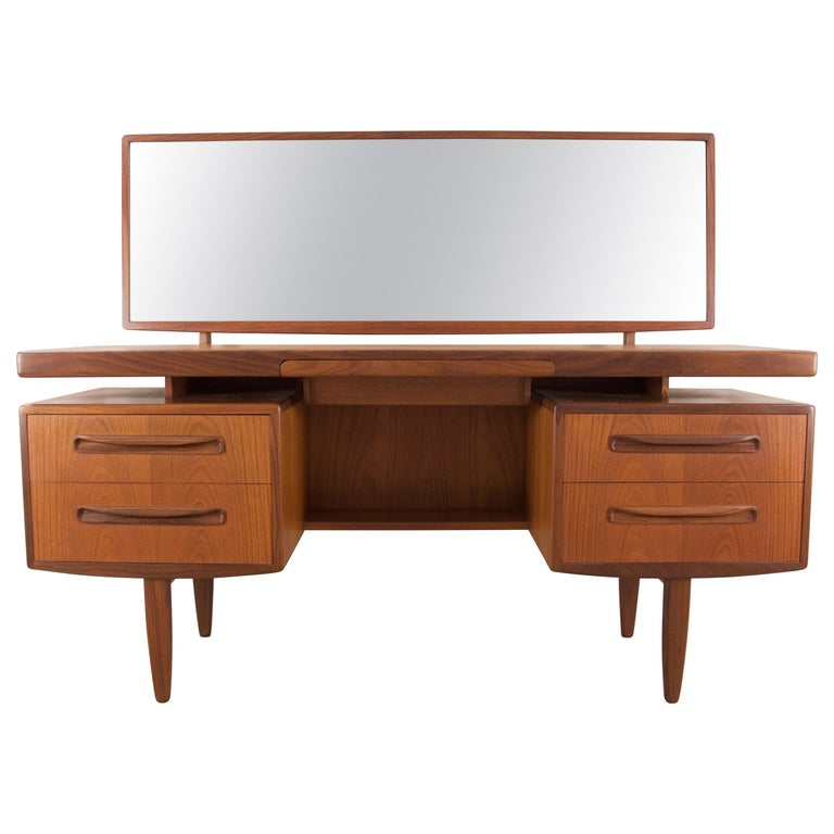 """G-Plan """"Fresco"""" Dressing Table or Desk by Victor Wilkins, circa 1960 For Sale"""