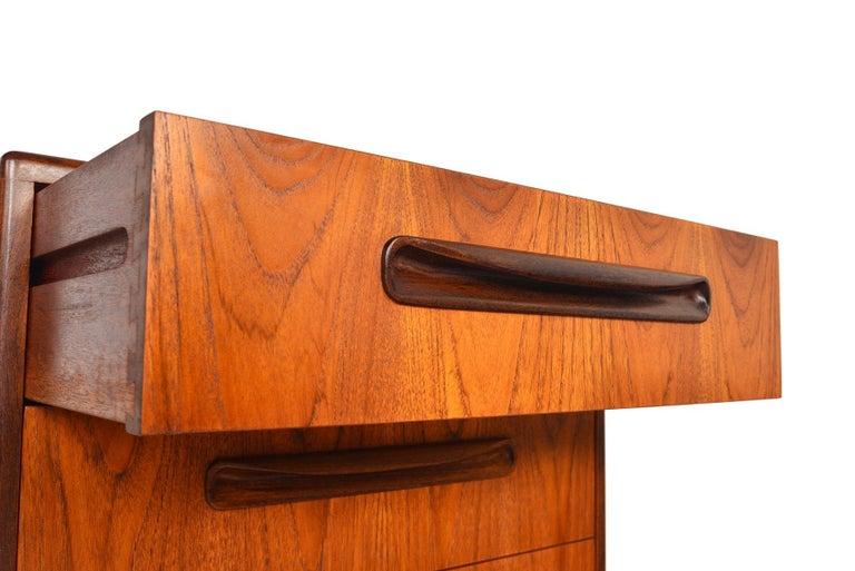 English G Plan Fresco Teak Lingerie Highboy Dresser #1