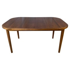 G-Plan Style Walnut Extension Dining Table with Butterfly Leaf, 1970s