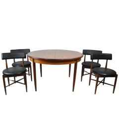 G-Plan Teak Extending Table 5-Piece Dining Set