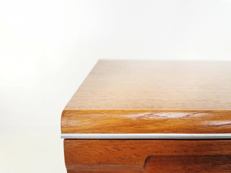 G Plan Teak Herringbone Midcentury Chest of Drawers on Hairpin Legs Vintage In Good Condition In STOKE ON TRENT, GB
