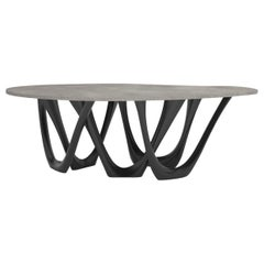 G-Table BC by Zieta Prozessdesign, Concrete Top 'Customizable'