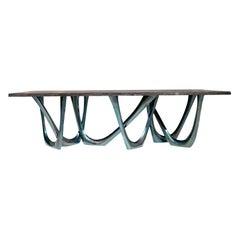 G-Table Cosmos by Zieta Prozessdesign, Oak Top 'Customizable'
