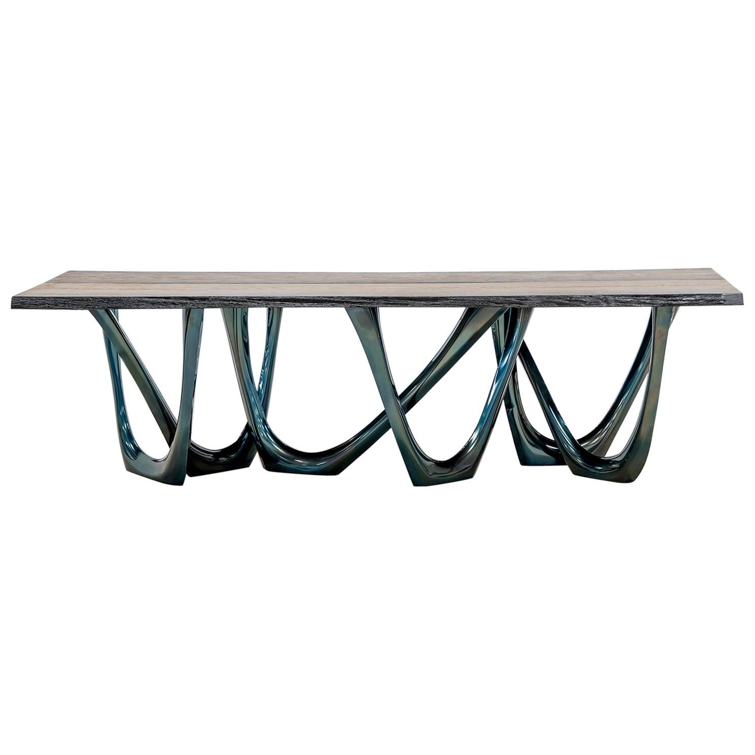 G-Table Cosmos with Granite Top by Zieta