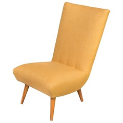 G. Van Os Beautiful and New Upholstered Fauteuil for Van Os Culemborg Set/2