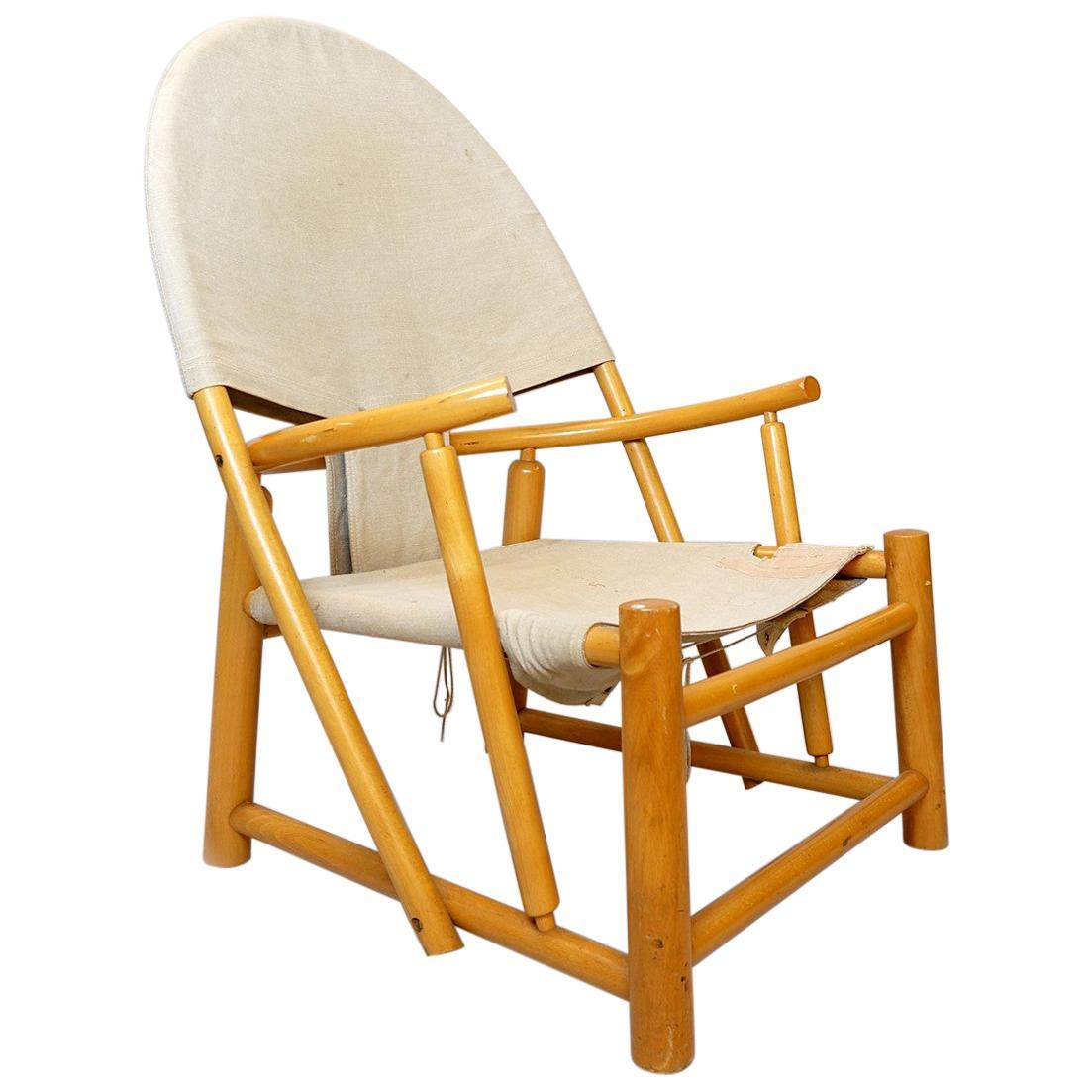 Mid-Century Modern G23 Hoop Armchair by Piero Palange & Werther Toffoloni, Germa