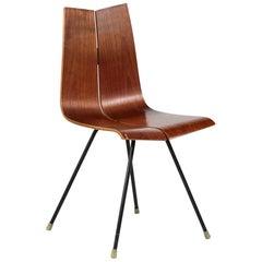 GA chair by Hans Bellmann, Suisse Design, 1960s