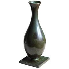 GAB Guldsmedsaktiebolaget, Small Vase or Vessel, Bronze, Sweden, 1930s
