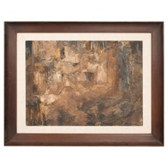 Gabriel Chavez Art Modernism Abstract Oil Painting Midcentury