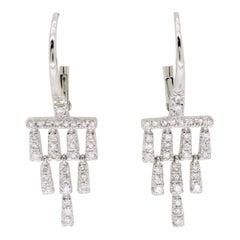 Gabriel & Co. Diamond Chandelier Earrings