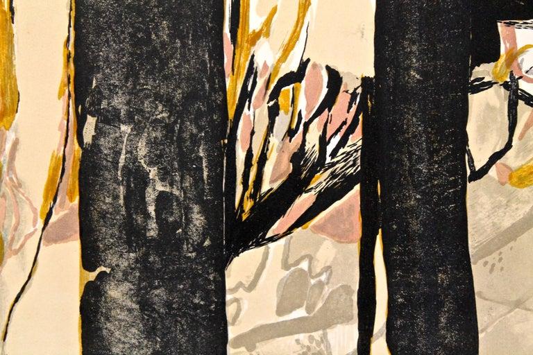 French Gabriel Godard Original Lithograph For Sale