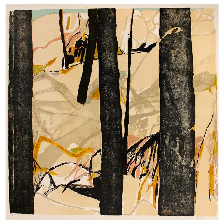 Gabriel Godard Original Lithograph For Sale