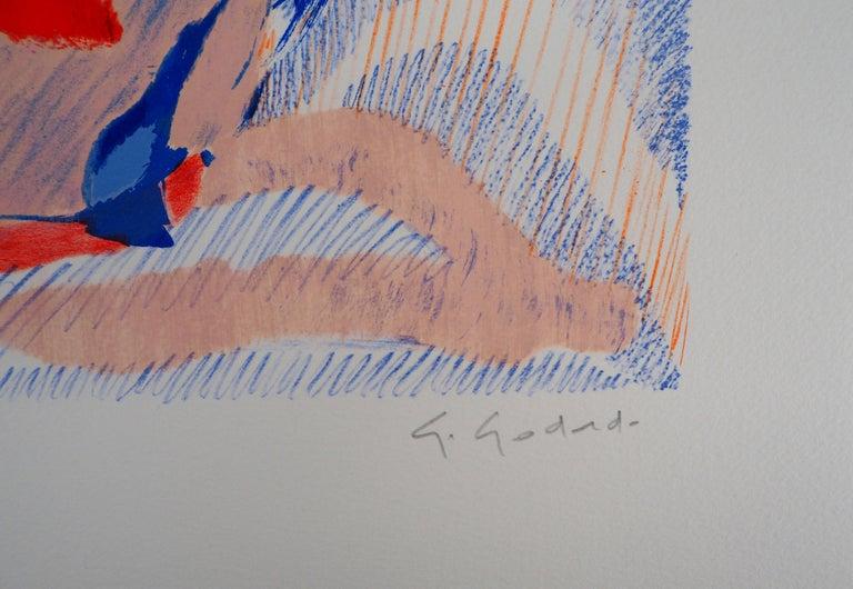 The Forest - Original Lithograph, Handsigned - Print by Gabriel Godard