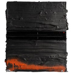 Gabriel Shuldiner, Collapse Point, Black Painting, United States, 2015