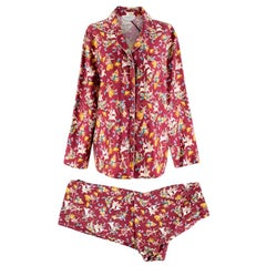 Gabriela Hearst Frida Mythical Print Silk print Pyjamas - Size M