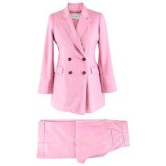 Gabriela Hearst Pink Trousers Suit UK 10, IT 42