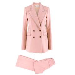 Gabriela Hearst Sophie single-breasted wool & silk-blend suit set UK 8