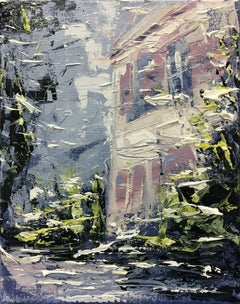 Cezannes studio 2, Painting, Acrylic on Canvas