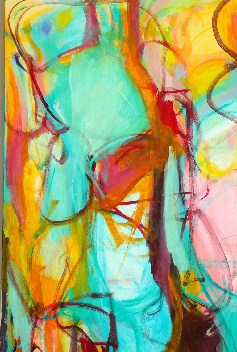 Contemporary painting, 'Luminous', by Gabriela Tolomei For Sale 4