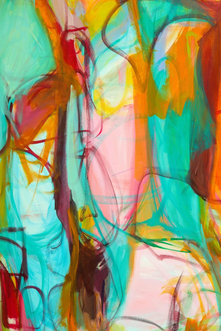 Contemporary painting, 'Luminous', by Gabriela Tolomei For Sale 7