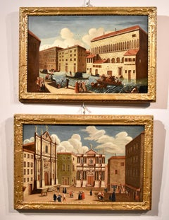 Gabriele Bella Venice Landscape 18th Century paint Oil on canvas Old master View