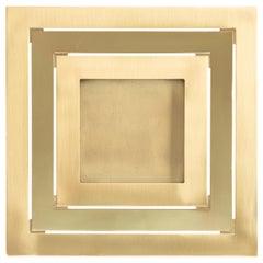 Gabriella Crespi Brass Picture Frame